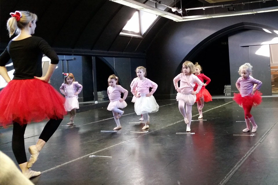 Ballet Class Surbiton / Kingston-Upon-Thames Christmas 2017