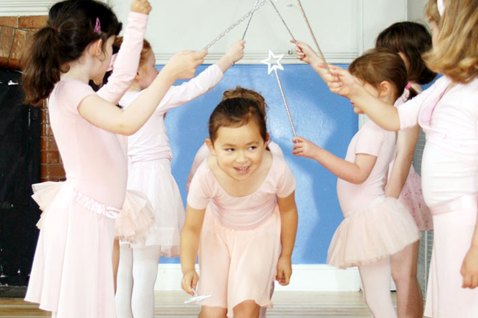 children's ballet lessons Kingston-upon-thames